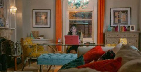 Room, Interior design, Comfort, Furniture, Interior design, Picture frame, Laptop, Living room, Pillow, Home,