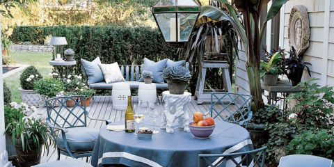 Furniture, Table, Outdoor table, Flowerpot, Outdoor furniture, Chair, Hardwood, Patio, Garden, Deck,