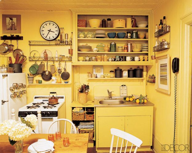 50 small kitchen design ideas decorating tiny kitchens - Decorating Ideas Kitchen