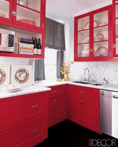 40 small kitchen design ideas decorating tiny kitchens - Interior Design For Kitchen
