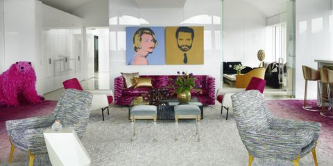 house tour inside an artfully daring florida home