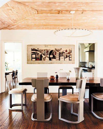 Wood, Room, Interior design, Furniture, Table, Ceiling, Hardwood, Wood stain, Plywood, Stool,