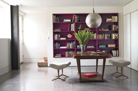 Room, Interior design, Floor, Flooring, Wall, Furniture, Table, Interior design, Ceiling, Shelving,