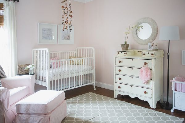 7 Cute Baby Girl RoomsNursery Decorating Ideas for Baby Girls