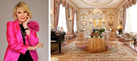 Joan Rivers's Glamorous NYC Apartment Is On The Market For $28 Million