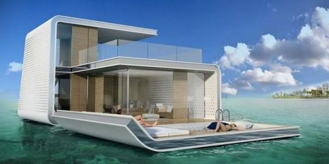 We're One Step Closer To Vacationing In Floating Villas
