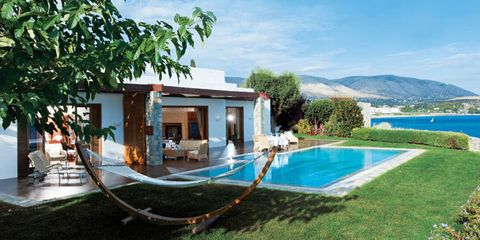 Property, Swimming pool, Real estate, Resort, Azure, Villa, Composite material, Home, Shade, Yard,
