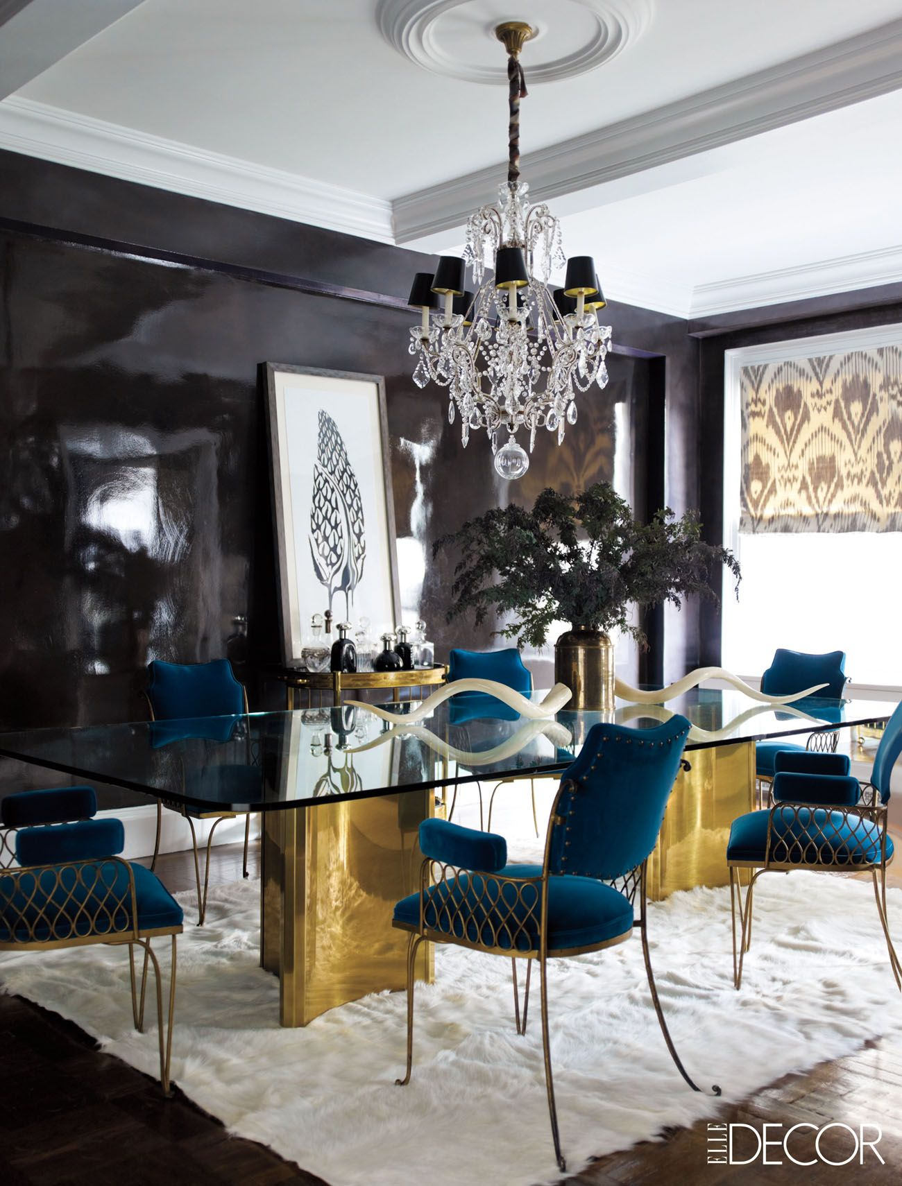 14 Gilded Rooms That Will Inspire You To Go For The Gold