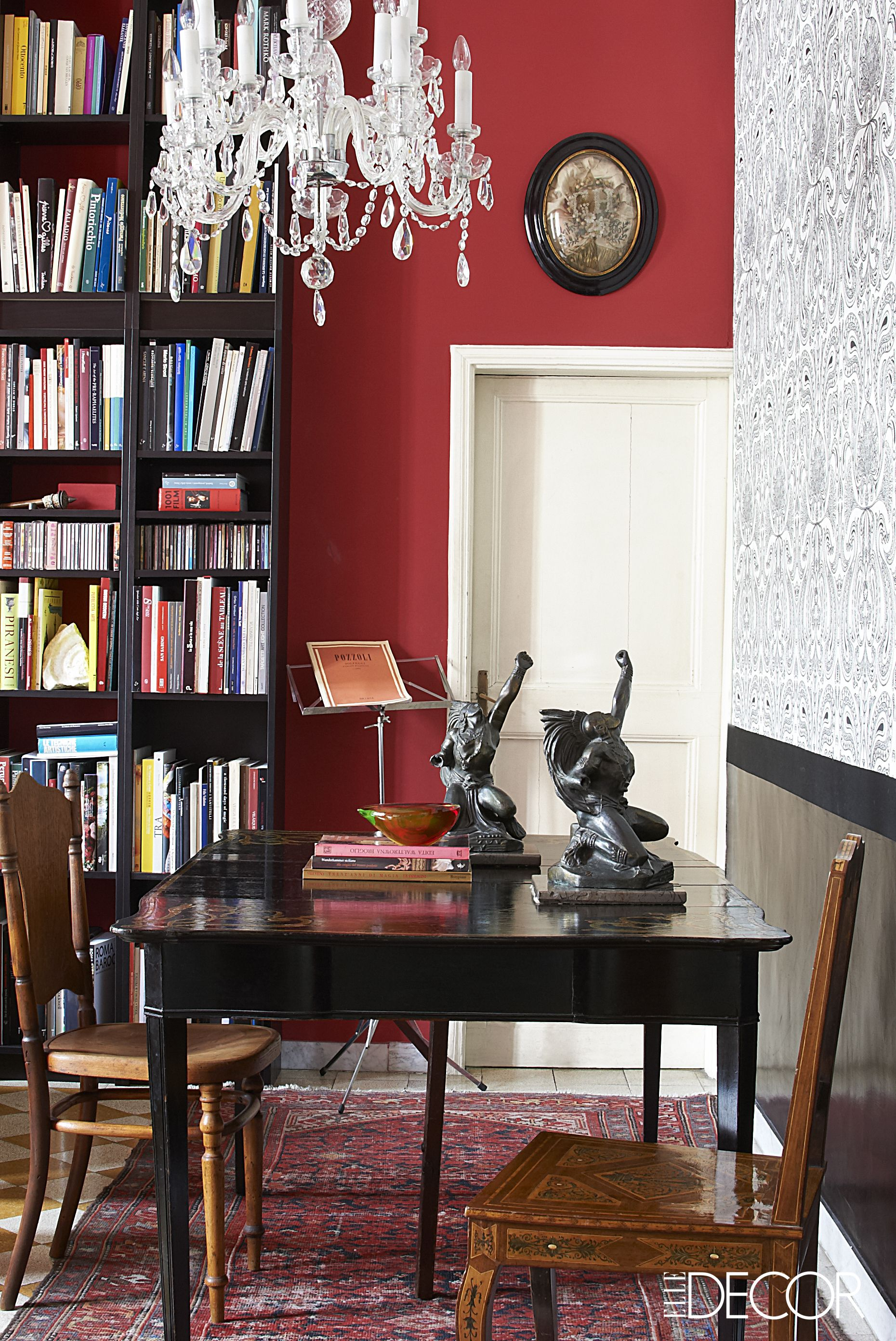Rooms With Red Walls