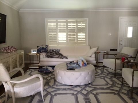 Before &, After: An Elegant, Budget-Friendly Living Room Makeover