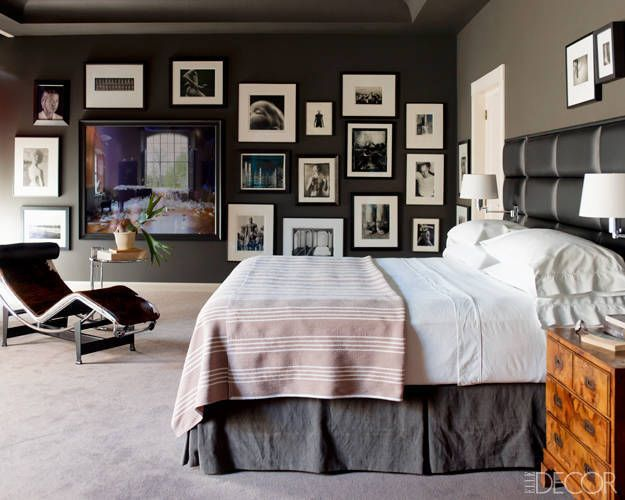 . Bedroom Wall Decor   Art Ideas   Bedroom Artwork   ElleDecor com