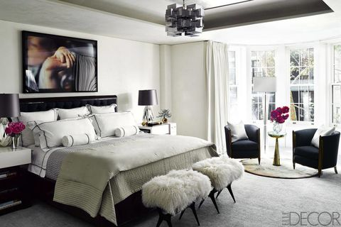 Bedroom Wall Decor Art Ideas Artwork Elledecor