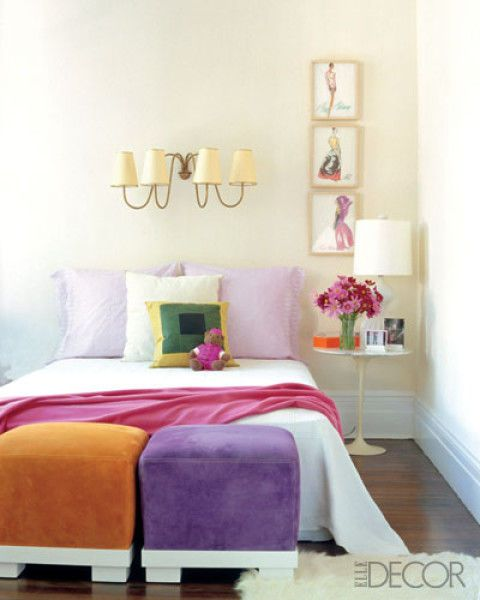 20 Small Bedroom Design Ideas -Decorating Tips For Small Bedrooms
