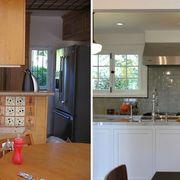 Wood, Room, Lighting, Interior design, Property, Countertop, Cupboard, Ceiling, Light fixture, Cabinetry,