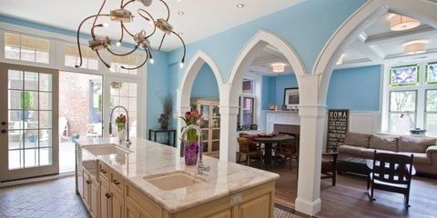 Interior design, Room, Floor, Wood, Property, Flooring, Furniture, Ceiling, Interior design, Wall,