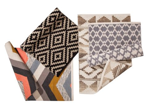 Don T Forget To Look Down These Rugs Will Cheer Up Your Floors From Left Right Multi Chevron Rug 2 X3 20 Black Diamond Aztec