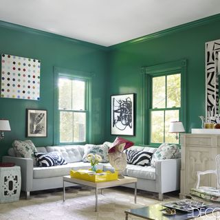 Living Room Paint Ideas Green 13 green rooms with serious designer style
