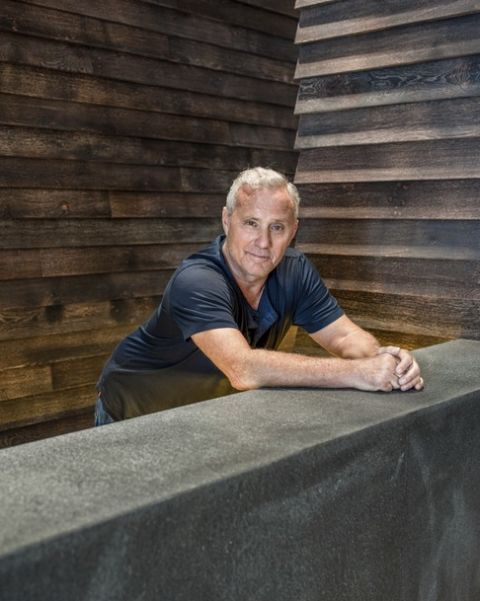 SPECIAL PRICE APPLIES.   American entrepreneur, hotelier Ian Schrager on site at Edition Hotel, London