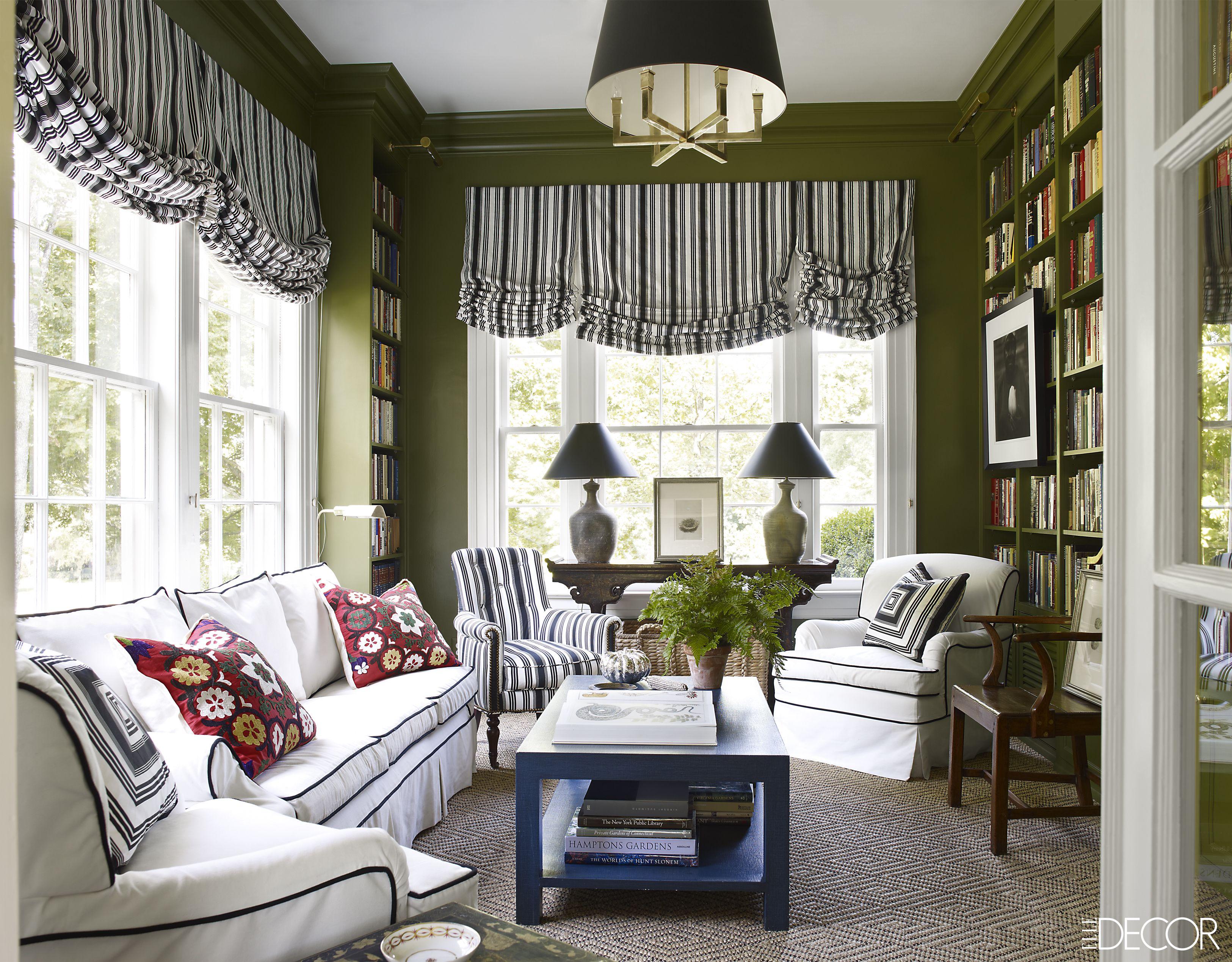 Amazing Green Living Room Ideas Set