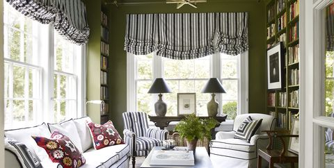 Olive Green Paint Color & Decor Ideas - Olive Green Walls, Furniture ...