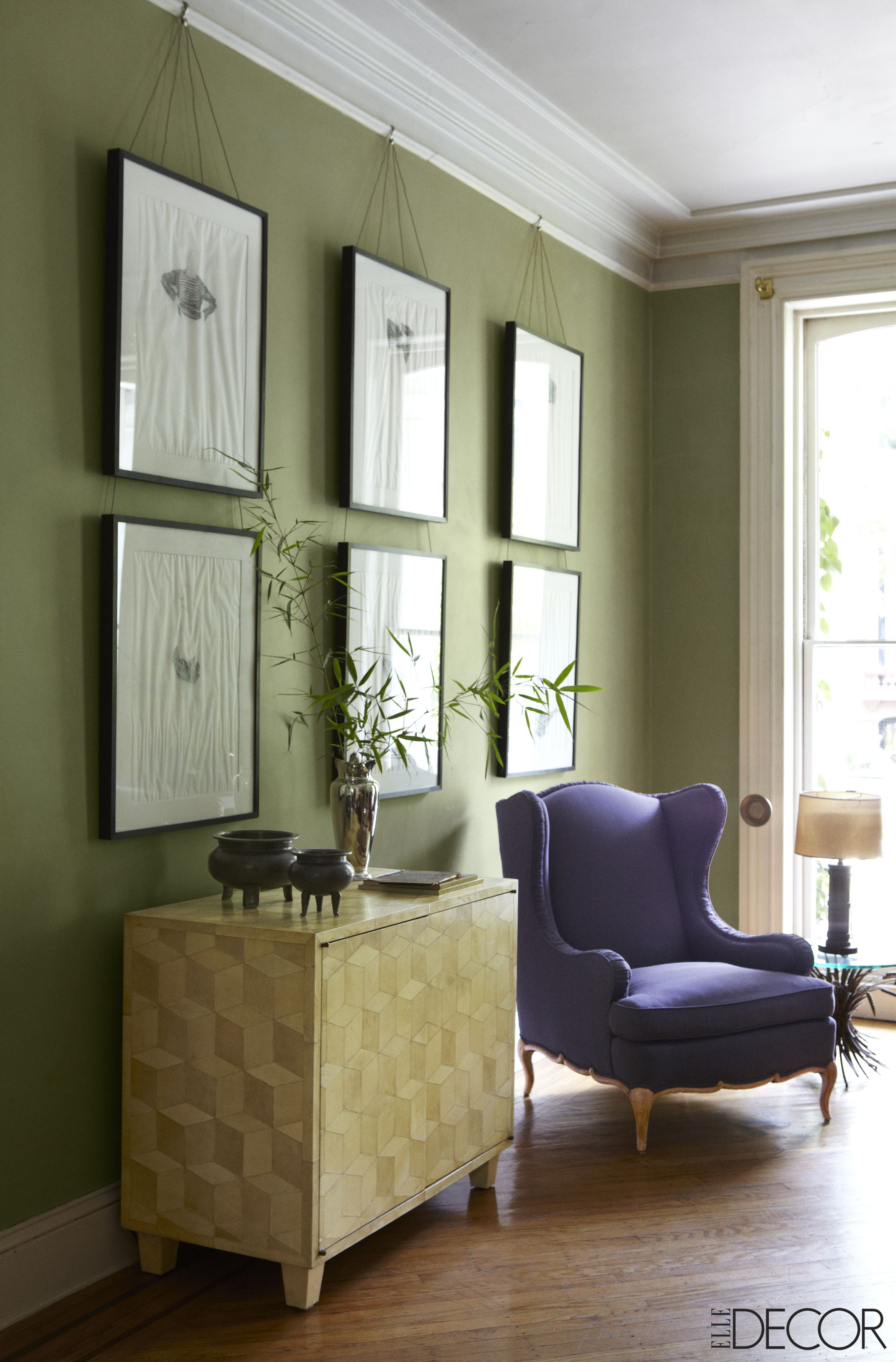 Olive Green Paint Color \u0026 Decor Ideas - Olive Green Walls ...