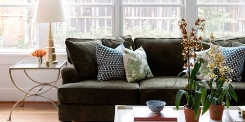 Room, Interior design, Home, Living room, Flowerpot, Furniture, Table, Couch, Interior design, Throw pillow,