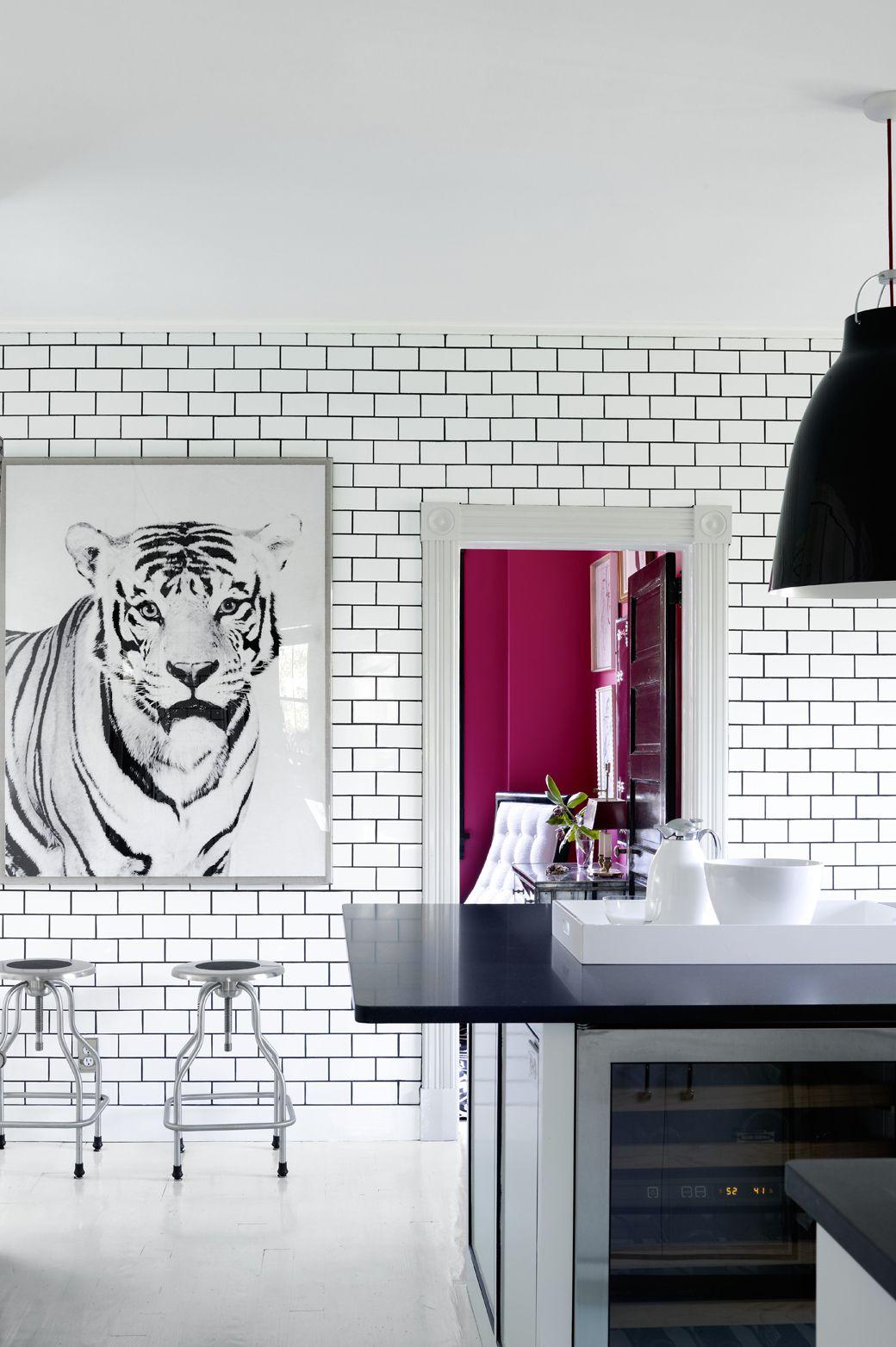 44 Striking Black White Room Ideas How To Use Black White