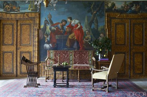 How The Interiors Of A Historic Castle In Italy Stand The Test Of Time