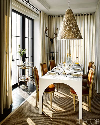Alessandra Branca's Red Hot Living Room. Interior designer ...