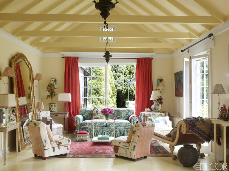 decorating living room country style house tour inside lorry newhouse s perfectly charming cottage 20244