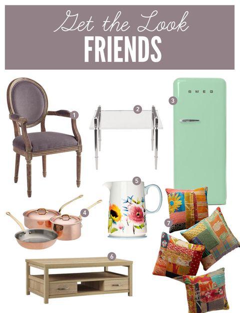 Get The Look Friends Friends Tv Show Decor