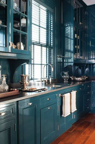 40 Blue Kitchen Ideas Lovely Ways To Use Blue Cabinets