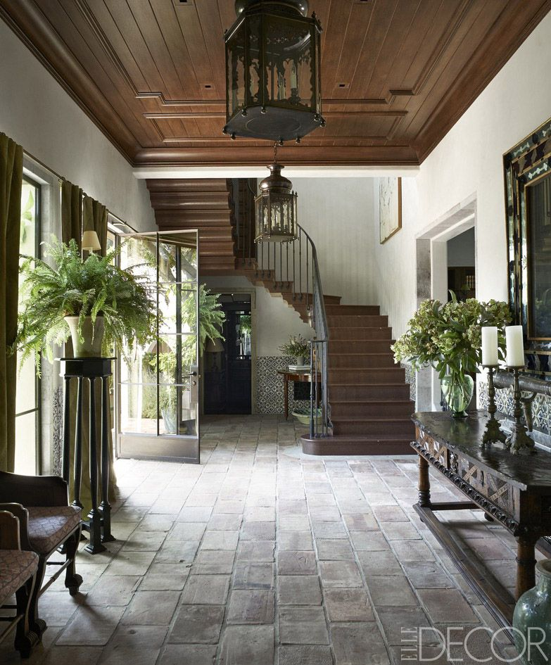 house tour a stunning california home inspired by the history of spain - Spanish Home Interior Design