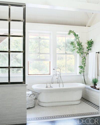 16 celebrity bathrooms chic bathroom decor inspiration - Bathroom Ideas Elle Decor