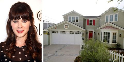 Take A Peek At Zooey Deschanel's Surprising New House