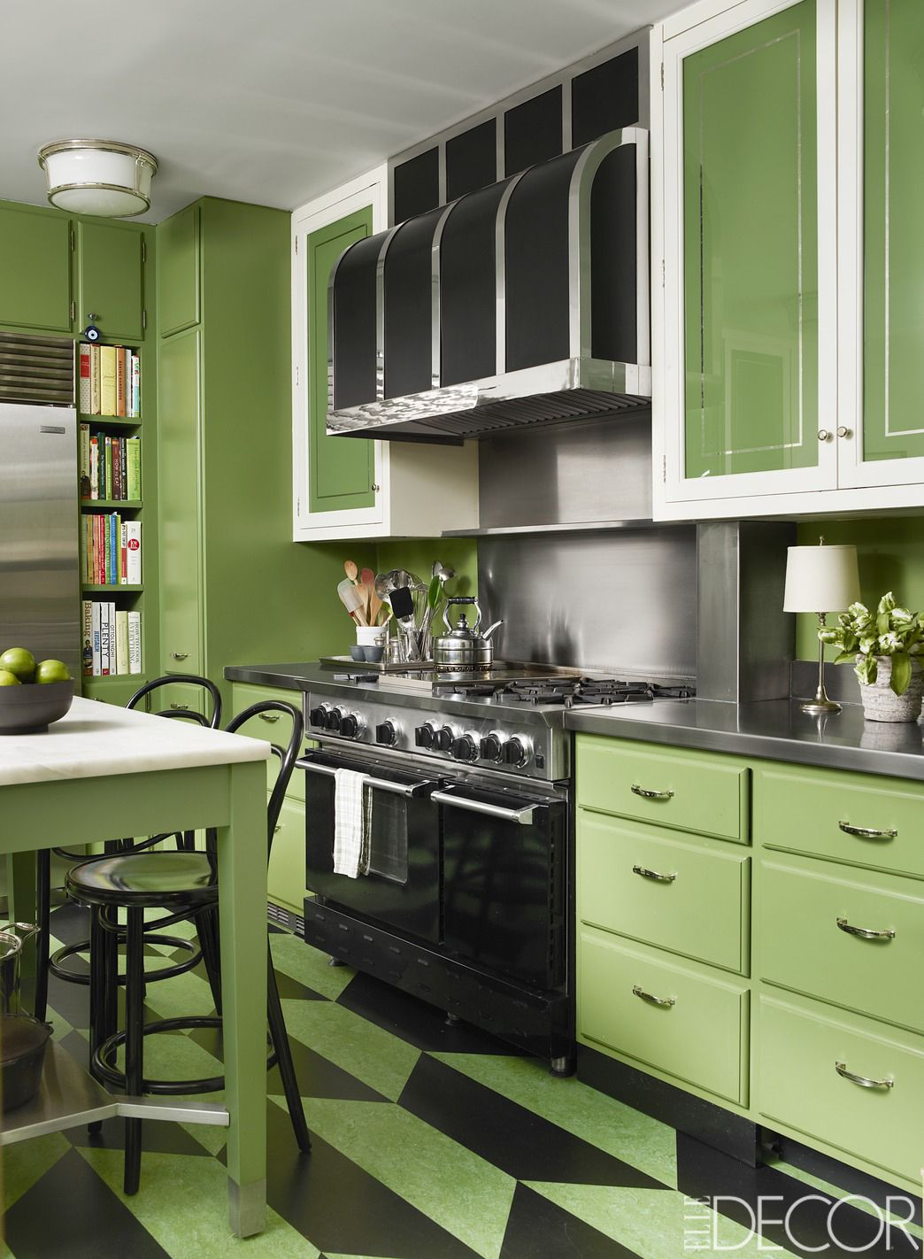 Decorating Ideas Kitchen 20 green kitchen design ideas - paint colors for green kitchens