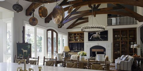 Lighting, Interior design, Room, Ceiling, Light fixture, Interior design, Beam, Lighting accessory, Ceiling fixture, Hardwood,