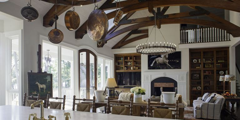 house tour british country house style with a laid back attitude in south carolina - Country House Style