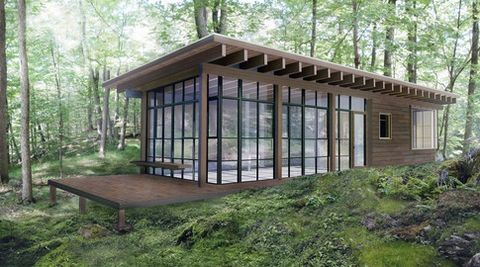 "<strong>Stephan Jaklitsch, Jaklitsch/Gardner Architects:  </strong>""Natural woods such as cedar are being grown at accelerated rates and are not as resistant to rot and decay as they used to be. Companies like <a target=""_blank"" href=""http://kebony.com/en"">Kebony</a> and <a target=""_blank"" href=""http://cambiawood.com/"">Cambia by NFP</a> take less durable, more sustainably grown woods and treat them in an ecologically responsible manner to make them more resistant to insect damage and rot.""  <em>The architect's weekend retreat in upstate New York.</em>"