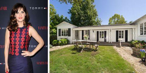 Zooey Deschanel Just Put Her Adorable Mini-Estate On The Market