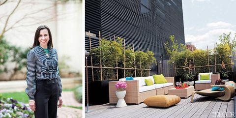 Flowerpot, Street fashion, Denim, Outdoor furniture, Couch, Design, Wicker, studio couch, Portrait photography, Houseplant,