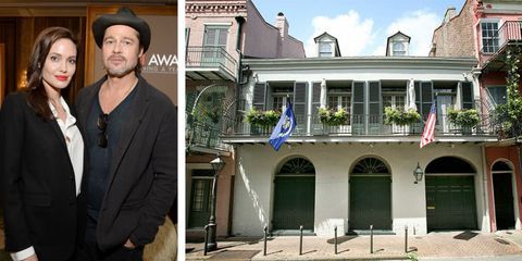 Brad Pitt And Angelina Jolie Just Put Their New Orleans Mansion On