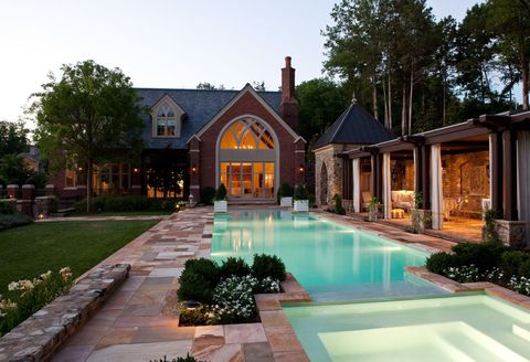 Interior Designer Jamie Beckwith's Pool House Is A Lesson In Luxury