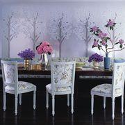 Room, Interior design, Furniture, Table, Purple, Lavender, Petal, Flower, Violet, Interior design,