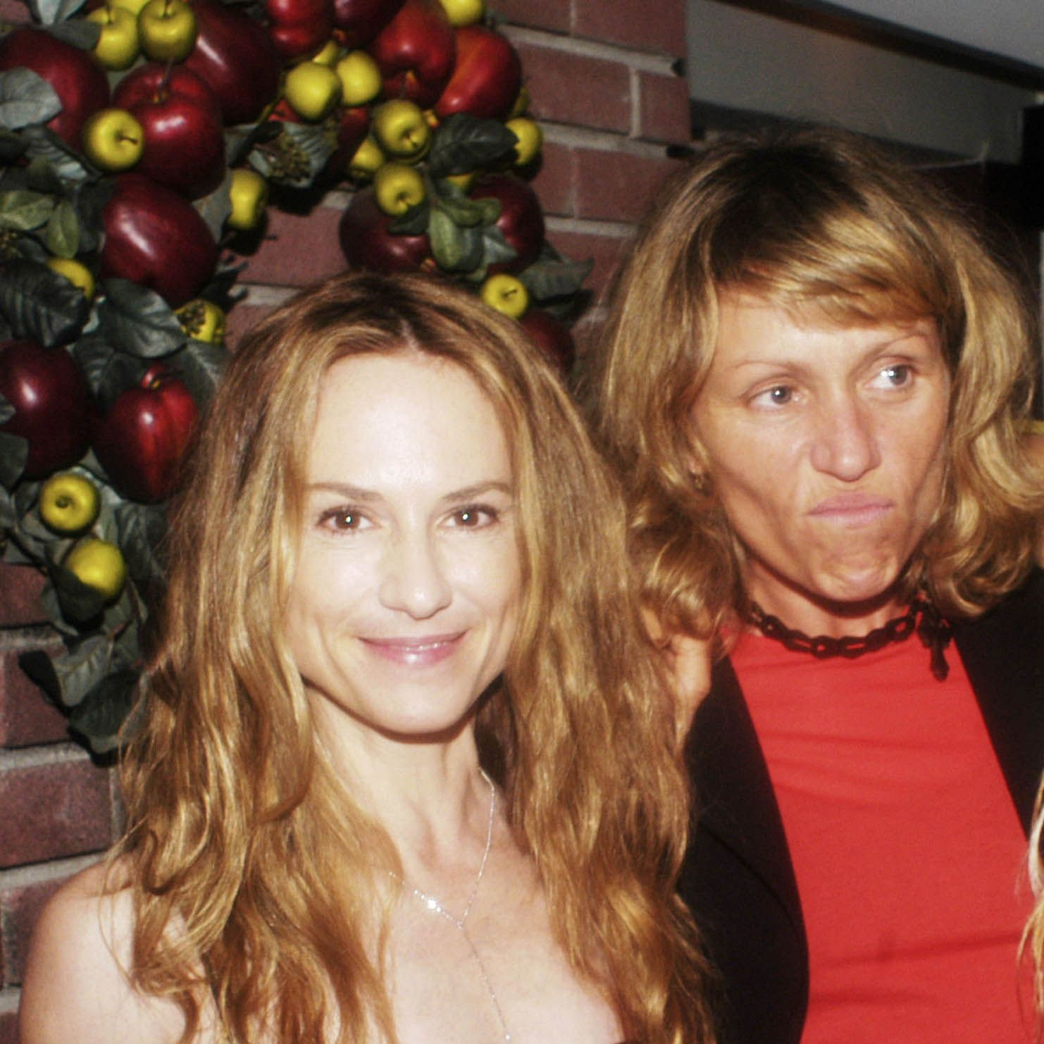 """NEW YORK - SEPTEMBER 4:  (HOLLYWOOD REPORTER OUT)  Actress Holly Hunter, Frances McDormand and director Catherine Hardwicke at a party thrown by  actress Frances McDormand,  celebrating the success of the Fox Searchlight Picture, """"Thirteen"""" On September 4, 2003 at  Vince &amp&#x3B; Eddie's Restaurant in New York City. """"Thirteen"""" was co-written by Catherine Hardwicke and 13-year old , Nikki Reed  who also stars in the film. (Photo by Myrna Suarez/Getty Images)"""