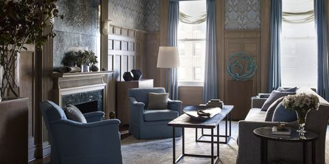 Room, Interior design, Floor, Flooring, Furniture, Ceiling, Living room, Table, Couch, Light fixture,