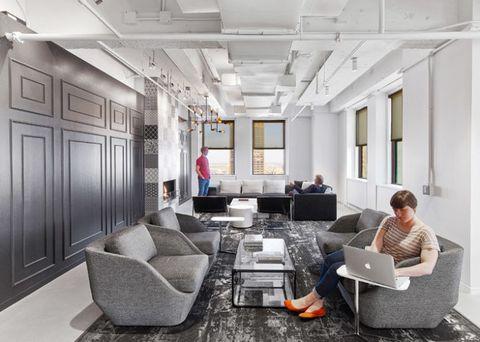 Lighting, Interior design, Floor, Room, Comfort, Electronic device, Ceiling, Laptop part, Couch, Laptop,