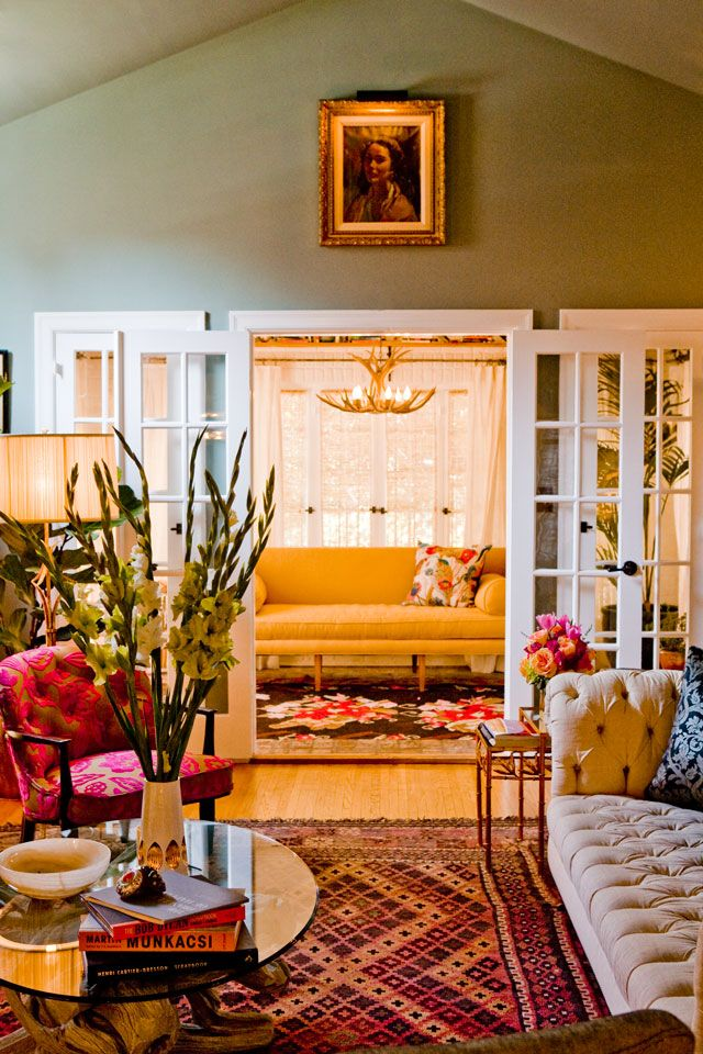 HOUSE TOUR: Inside The Whimsically Stylish Home Of A TV Star