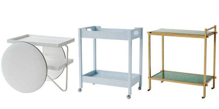 10 Modern Bar Carts - Best Serving Carts for Home Bars