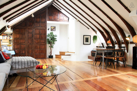 This Attic Loft Proves That Everything Is Prettier In Paris